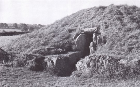 Burial chamber at Anglesey