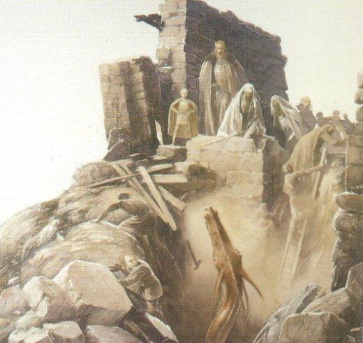 Vortigern and Merlin