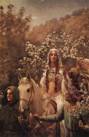Maying of Queen Guinevere