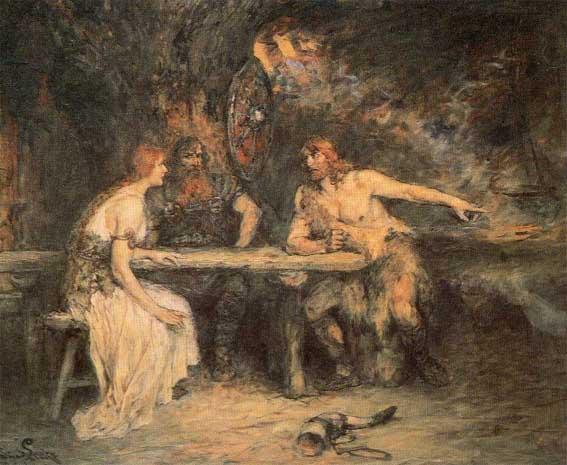 Sigmund and Hjordis (Sieglinde)