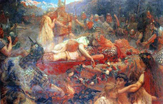 The Funeral of Sigurd