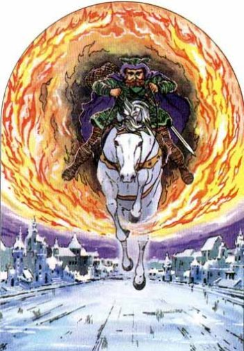 Skirnir Riding to Gerd's Home