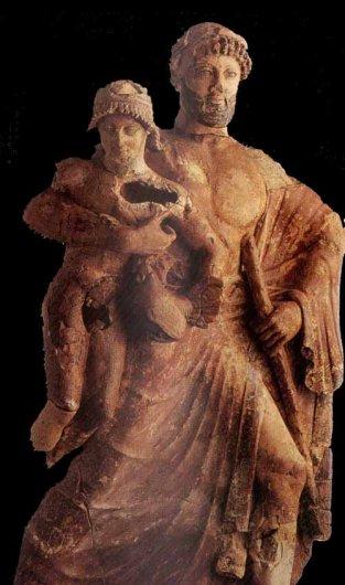 Zeus Abducting Ganymedes