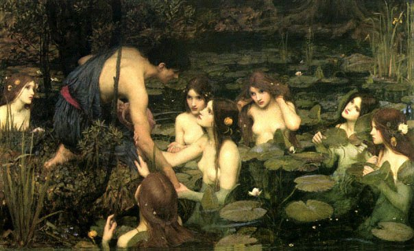 Hylas and the Water-nymphs