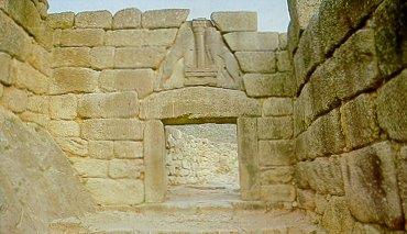 Lion Gate, Mycenae, Bronze Age